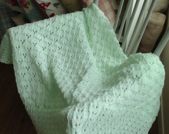 Mint green shawl