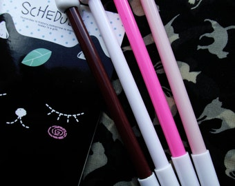 4 x Cute Cat Gel Pens