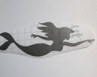 Swimming Mermaid Vinyl Sticker