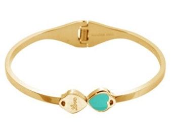 New heart love bracelet