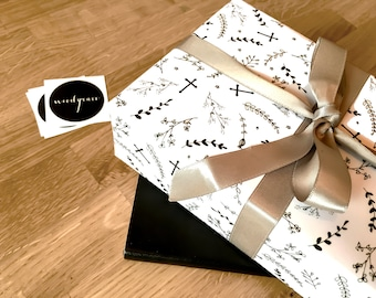 Christening Wrapping Paper / Gift Wrap