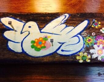 Peace Dove Key Holder