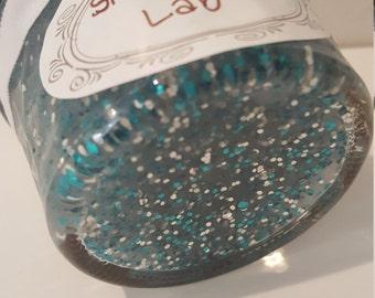 Homemade Glitter Goo Slime