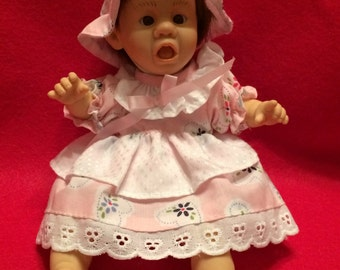 "Adorable 7"" Baby Doll by Gi-Go Toys, Wearing My Expression When I Get On Scales"