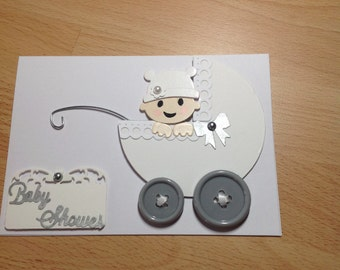 Baby Shower. Baby Shower Greeting Card