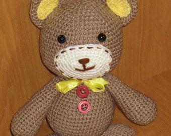 Bear, Handmade, Amirugumi, Toys
