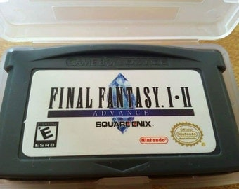Final Fantasy 1+2 for gba