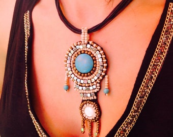 Superb ethnic style Pearl Necklace