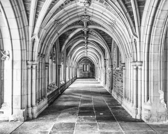 Princeton, Princeton Photography, Princeton University Art, Black & White Photography, Architecture, Building Photography, Wall Art, decor