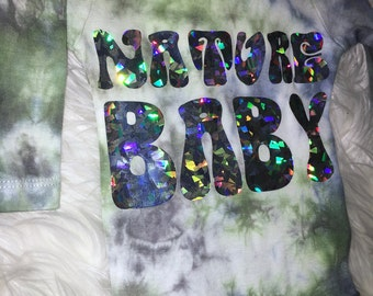 "Holographic ""Nature Baby"" Onesie Bodysuit - FREE US SHIPPING"