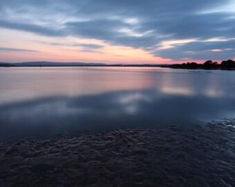 Poole Harbour Sunset Photo Print