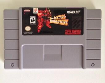 Metal Warriors Super Nintendo Reproduction Game SNES Cartridge English USA Free Shipping!