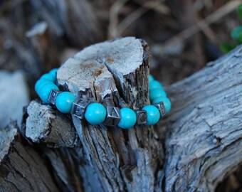 "Natural Stone Bracelet ""Peace"""