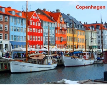 Good to know Fridge Magnet COPENHAGEN DENMARK Photo Educational Vinyl FREE Shipping