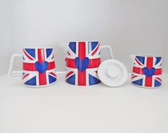 British Flag Tea Set