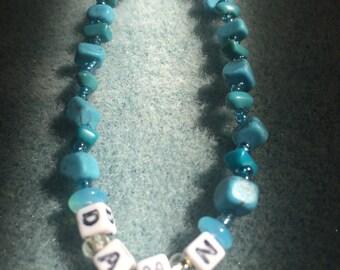 Damn Turquoise Friendship Bracelet ©