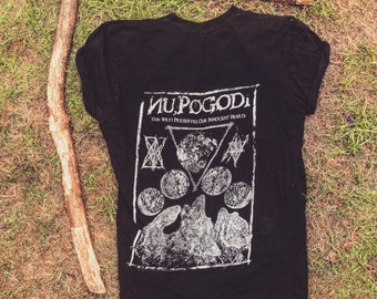 Nu Pogodi back print only // the wild preserves our innocent hearts