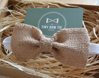 Bow Tie for Kids - Hessian