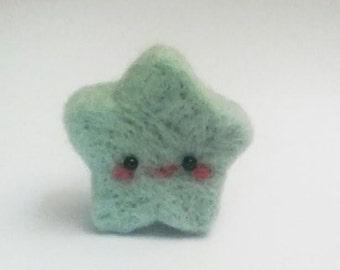Tiny Turquoise Star