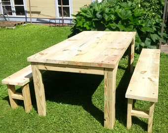 6ft Picnic Table Set