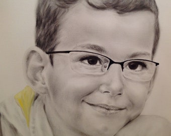 Child Oil Portrait Custom Portrait From Photo Boy's Portrait Realism Dry Brush Portrait Oil Portrait Son Portrait Oil Painting Anniversary