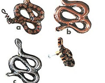 Cabinet Drawer Knobs Pulls SNAKE Knobs WESTERN Decor FREE Shipping