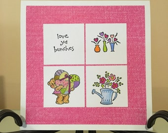 Love You Bunches Greeting Card