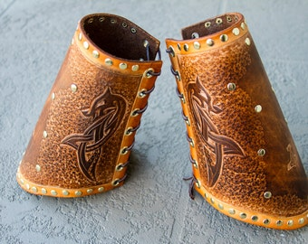 Dragon Leather Vambrace