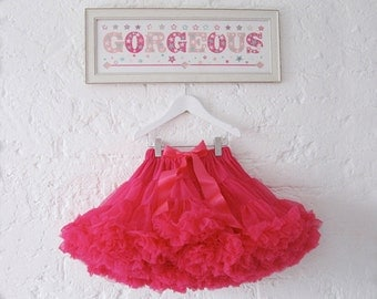 Hot Pink Girls & Baby Tutu Pettiskirt