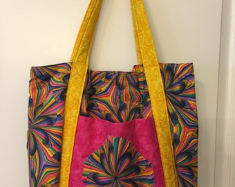 Needlework/knitting/all-purpose tote bag