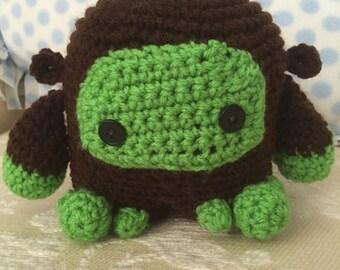 Crochet Yeti—Patrick the Yeti