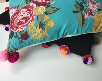 Happy PomPoms pillowcover