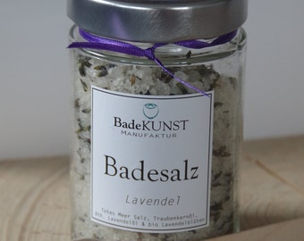 "Badesalz-dead sea bath salt ""Lavender"""