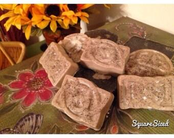 Double butter Coffee scrub soap