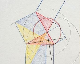 Symmetric Pythagorean Theorem (with error)