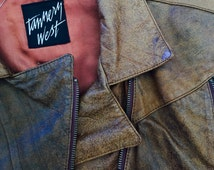 Tannery West Brown Motorcycle Jacket