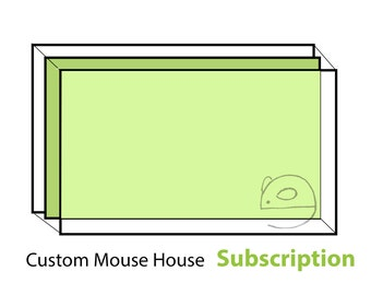 Custom Sized Foraging Wall Subscription