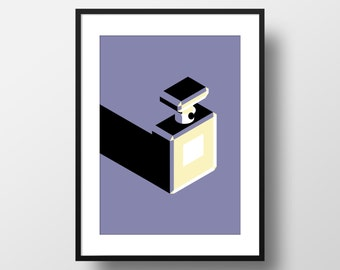 Chanel No5 - Giclee Art Print
