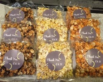 Caramel Corn Favor bags- groups of 20