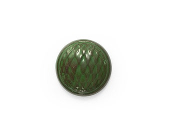 Ceramic Green Cabochon 1 piece