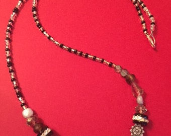 """15"""" beaded necklace"""