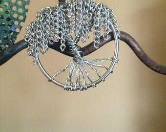 Willow tree pendant