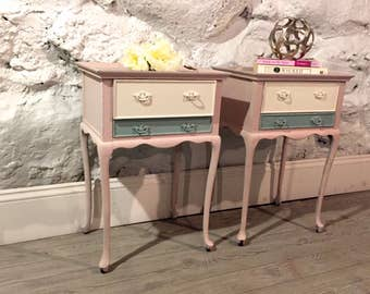 PAIR of French Petite Side tables - price is without delivery!!!