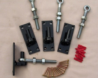 Hinges for wrought iron gates