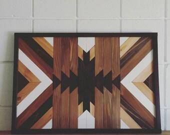 Tribal Wood Wall Art