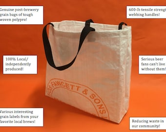 First-Quality Official GoodTurn Grocery Market Recycled Woven Polypro Bags