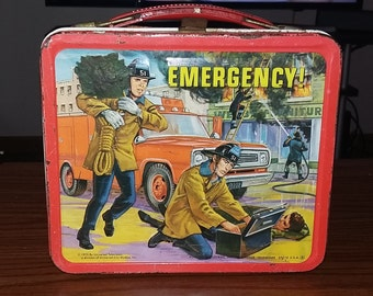 Emergency lunch box and thermos