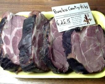 Smoked Boneless Country Ribs (5 lbs)