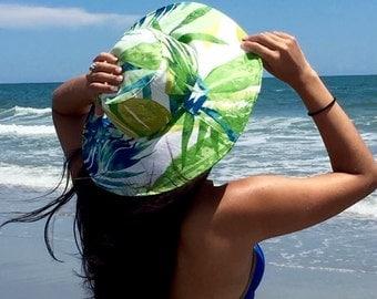 Cappello da Sole ~ a fair freckled sun hat
