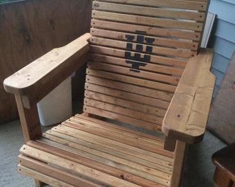 Handmade Flatback Adirondack Chairs